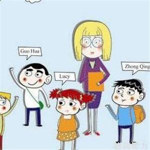 佛罗米英语教育可爱