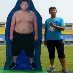 祖嘉泽减肥对比图4