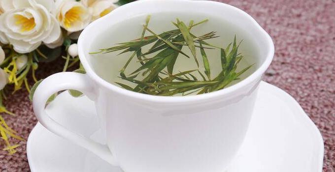 竹叶青茶润肠