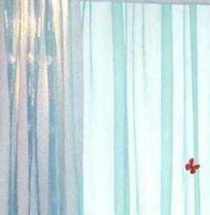 蘭花草布藝窗簾