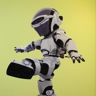 乐博机器人真人版
