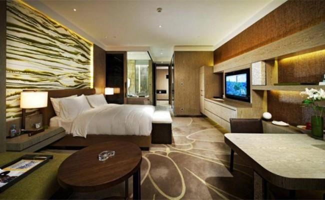 君悅酒店豪華套房