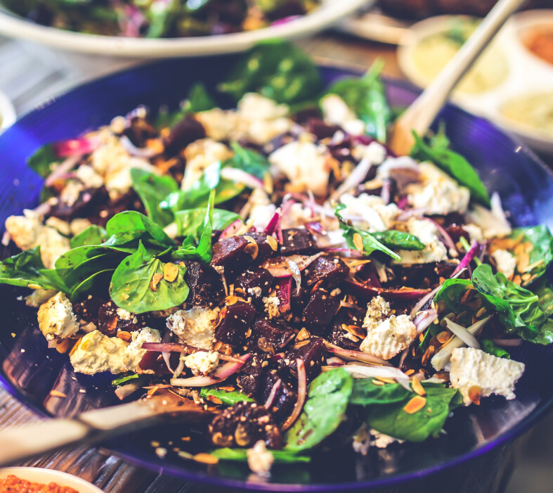 蔬方沙拉营养