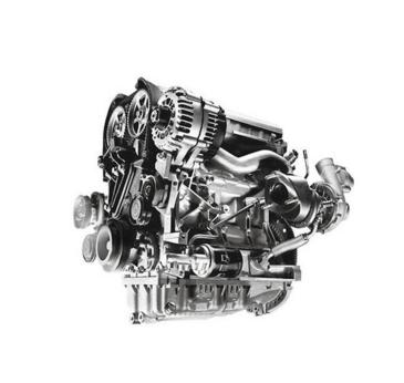 賽跑者省油渦輪成品發動機正面