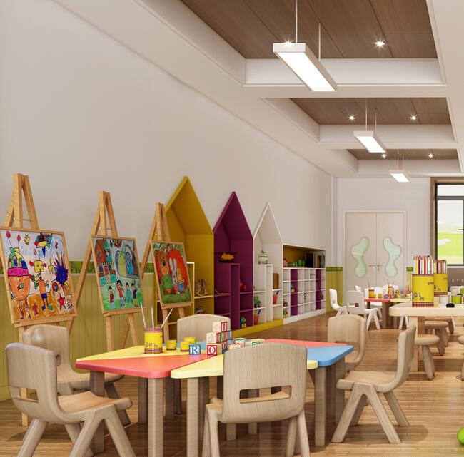 欧顿幼儿园标准美劳室