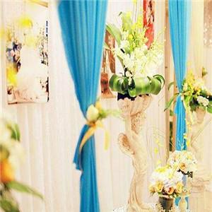 婚庆礼仪蓝色