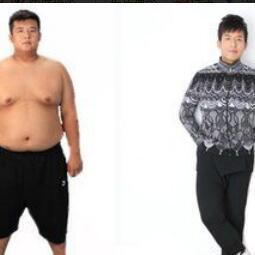 祖嘉泽减肥对比图1