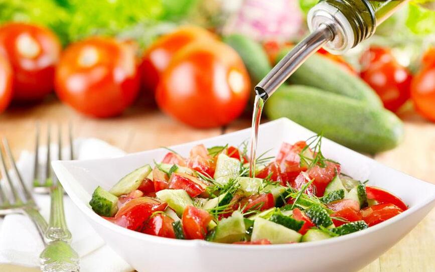 蔬方沙拉健康营养