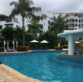 日照愛琴海度假酒店全景