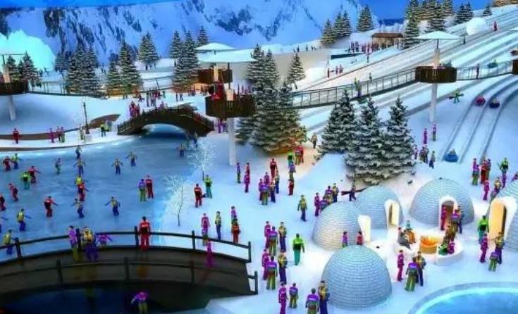酷米乐儿童乐园雪场