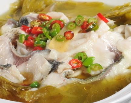 成魚落顏酸菜魚
