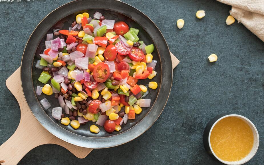 蔬方沙拉荤素搭配