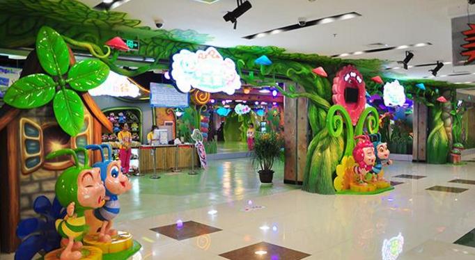 蚂蚁王国儿童乐园入口
