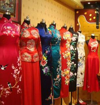 瑞蚨祥旗袍產品展示