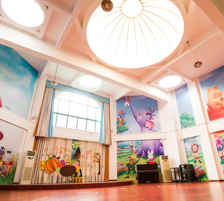 欧顿幼儿园学区内部