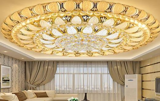 星宫照明灯饰圆形水晶灯