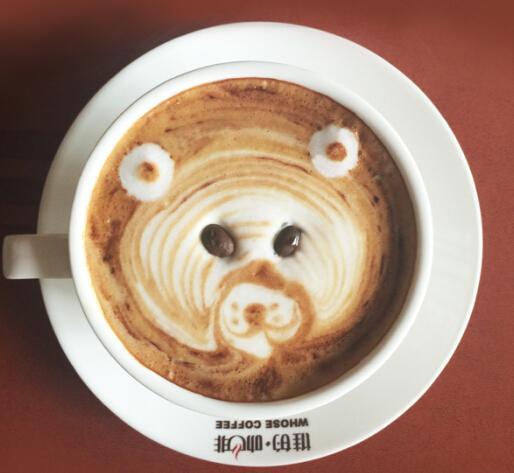 谁的咖啡迷你小站小熊图样