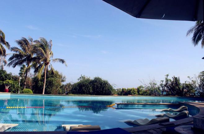 日照愛琴海度假酒店環境優美