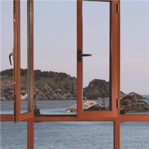 欧立德铝门窗红木
