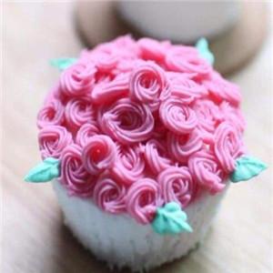 卉和水玫瑰花本水奶油
