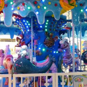 大白鲸儿童乐园发展快