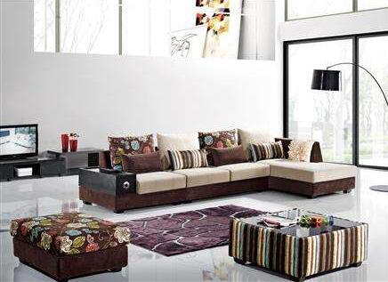 米思尼布艺沙发