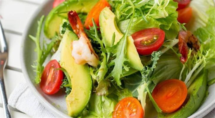 食轻水果沙拉