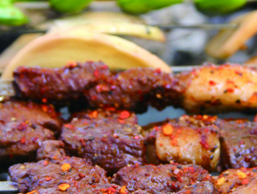 韓盛炭火自助烤肉