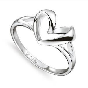 鉑金漢娜戒指