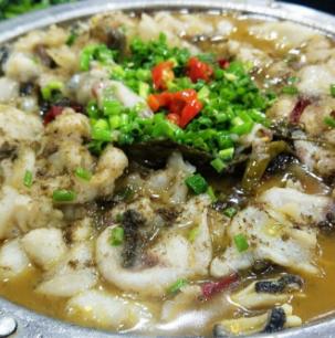 庭泊私房酸菜魚美味
