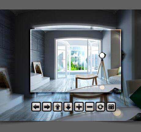 全新家家装VR设计软件界面