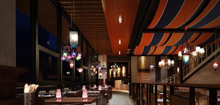 本色本样韩餐厅创意