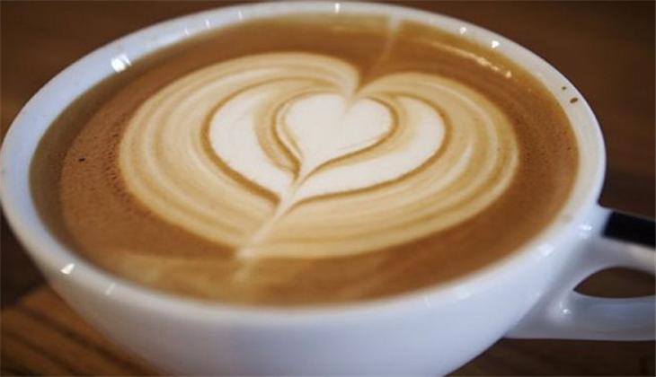 小院客棧咖啡廳拉花咖啡