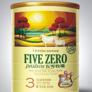 五零牧场奶粉3段