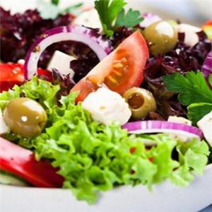 莎莜沙拉蔬菜