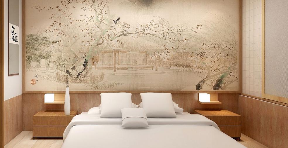 木山清芽日式酒店房间