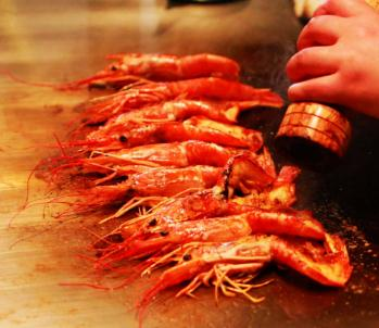 犇牛铁板烧嫩虾
