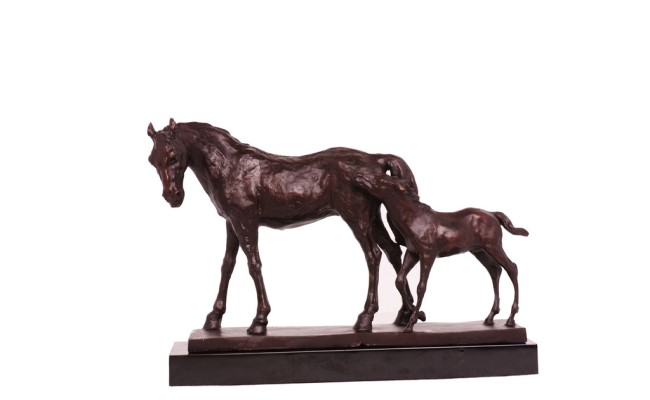 雄獅銅器銅馬