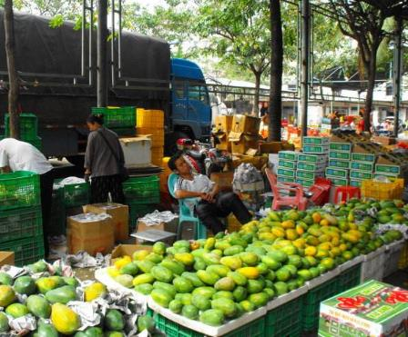 标记水果批发行加盟