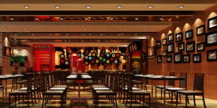 百利来港式茶餐厅店面