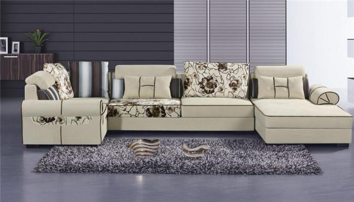米思尼布艺沙发白色