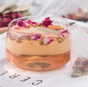 艾米主题茶楼玫瑰花茶