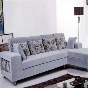 米思尼布藝沙發藍色沙發