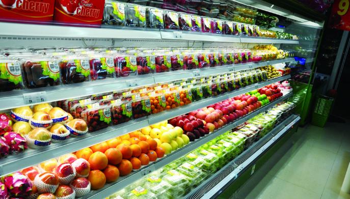百果优水果超市环境