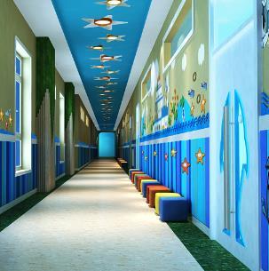 小行幼儿园走廊
