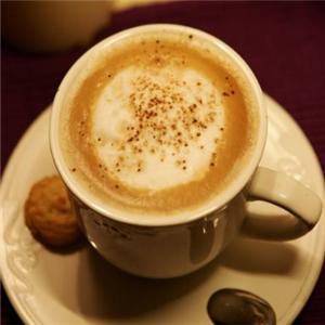 小院客棧咖啡廳卡布基諾