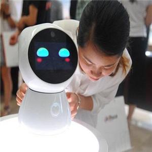 麥麥育兒機器人藍色