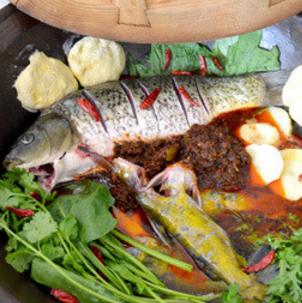 白洋淀灶台鱼