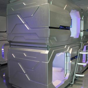 悠游太空艙式酒店舒適