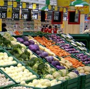 美食林超市蔬菜